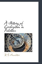 A history of civilization in Palestine