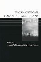 Work options for older Americans