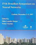 IVth Brazilian Symposium on Neural Networks : Goiania, GO, Brazil, December 3-5, 1997 : proceedings