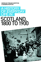 A history of everyday life in Scotland