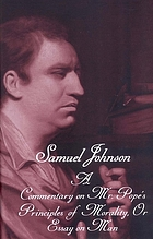 The Yale edition of the works of Samuel Johnson