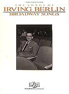 Broadway songs : piano, vocal, guitar