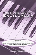 The music lovers' encyclopedia