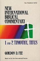 1 and 2 Timothy, Titus