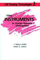 Using instruments in human resource development