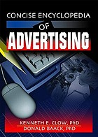 Concise encyclopedia of advertisingConcise enclyclopedia of advertising