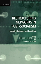 Restructuring networks in post-socialism : legacies, linkages, and localities