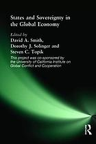 State and Sovereignty in the Global Economy