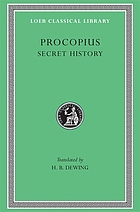 Procopius, literally and completely translated from the Greek for the first time