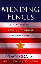 Mending fences : renewing justice between government and civil society