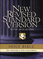 The Revised English Bible : with the Apocrypha