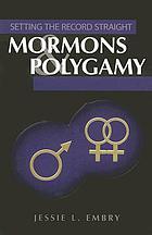 Mormons & polygamy