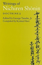 Writings of Nichiren Shōnin : Doctrine 2