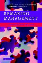 Remaking management : between global and local