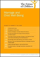 Marriage and child wellbeing