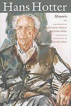 Hans Hotter : memoirs
