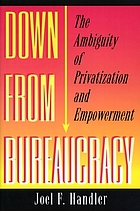 Down from bureaucracy : the ambiguity of privatization and empowerment