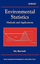 Environmental statistics : methods and applications