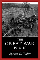 The great war, 1914-18