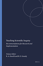 Teaching scientific inquiry : recommendations for research and implementation
