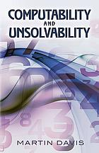 Computability & unsolvability