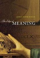 The edge of meaning