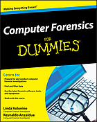 Computer forensics for dummiesComputer forensics for dummies
