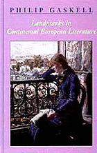 Landmarks in continental European literature