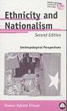 Ethnicity and nationalism anthropological perspectives