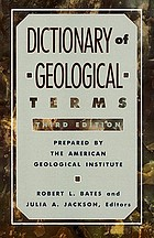 Dictionary of geological terms