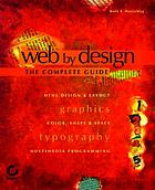 Web by design : the complete guide