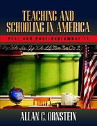 Teaching and schooling in America : pre- and post-September 11