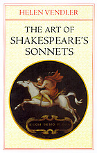 The art of Shakespeare's sonnets