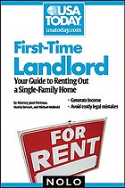 First-time landlord : your guide to renting out a single-family home