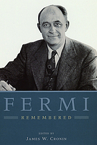 Fermi remembered