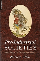Pre-industrial societies