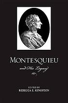 Montesquieu and his legacy