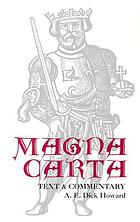 Magna carta : text and commentary