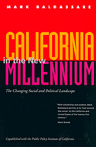 California in the New Millennium : the changing social and political landscape