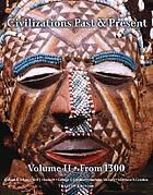 Civilizations : past and present