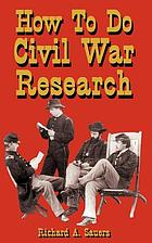 How to do Civil War research