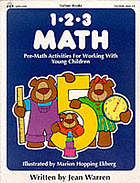 1-2-3 math : pre-math opportunities for working with young children