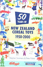 New Zealand cereal toys, 1950-2000