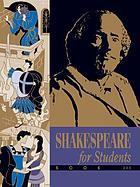 Shakespeare for students. critical interpretations of: All's well that ends well, Antony and Cleopatra, the comedy of errors, Coriolanus, Measure for measure, Richard II, the sonnets, the winter's tale