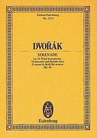 Serenade, D minor : for wind instruments, violoncello and double bass, op. 44
