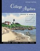 College algebra : graphs and models