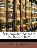 Psychology applied to education
