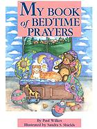 My book of bedtime prayers