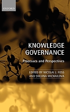 Knowledge governance processes and perspectives