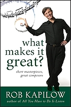 What makes it great? : short masterpieces, great composers